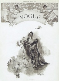VOGUE 1ST ISSUE